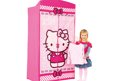 Hello Kitty Opbergrek.Hello Kitty Kledingkast