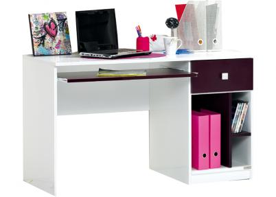 Kinderkamer Met Bureau : Bureau pretty voor de paarse kinderkamer bureaus jeeigenkamer