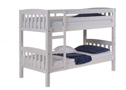 Wit stapelbed white wash