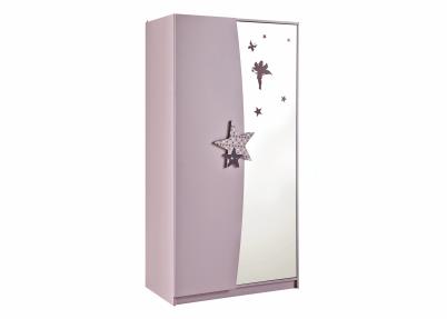 Elegante 2 deurs kledingkast met spiegel arwen kasten