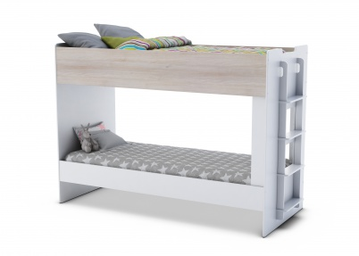 Strak stapelbed 39 game 39 90x200cm stapelbedden - Stapelbed met opslag trappen ...
