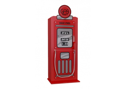 Kinder kledingkast Gas Pump One met legplanken