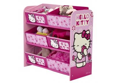 Hello Kitty Opbergrek.Hello Kitty Opbergrek Met 6 Opbergbakken
