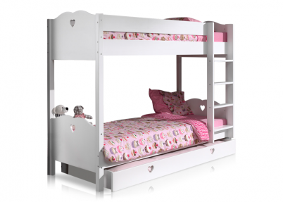 Stapelbed Sweetheart met optionele bedlade