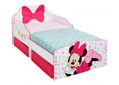 Minnie Mouse peuterbed met lades