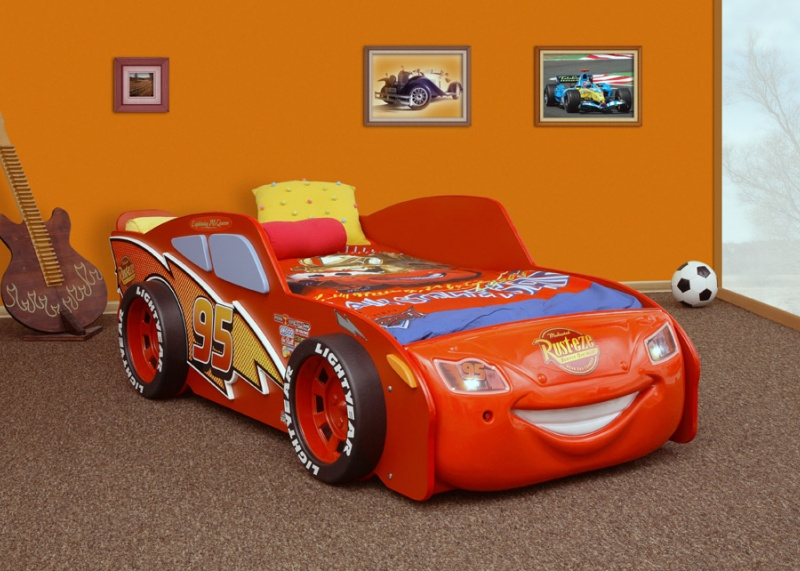 Cars Bett 90x200: Cars Bed, Kinderbed Uit De Film Cars 2