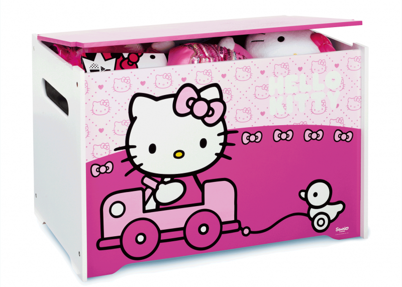 Kinderkamer Hello Kitty : Hello Kitty speelgoedkist Speelgoedkisten en ...