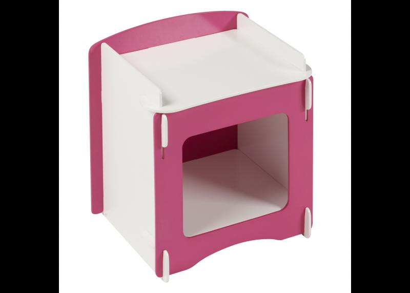 Kidsaw blush nachtkastje voor meisjes ladekastjes en nachtkastjes - Eigentijdse nachtkastje ...