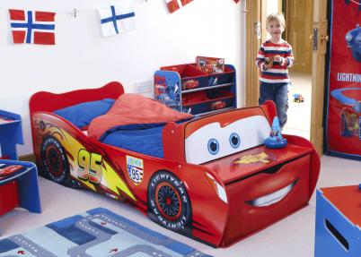 Cars mcqueen auto kinderkamer meisjeskamers jongenskamers - De kamer van de jongen ...