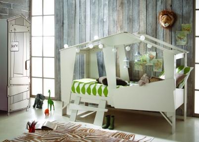 Originele Boomhut Kinderkamer Model Cabane