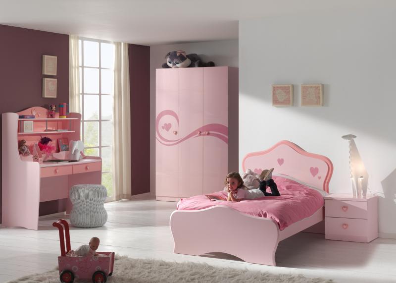 Romantische meisjeskamer Candy met hartjes  Meisjeskamers ...