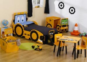 Joey jcb stoere kamer voor bouwvakkers meisjeskamers jongenskamers - Deco kamer fotos ...