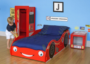 Kidsaw Racing Car kinderkamer voor de race fans
