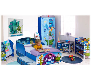 Monsters kinderkamer
