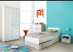 Meisjeskamers jongenskamers - Blauwe kamer voor meisje ...